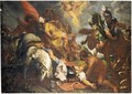 Saint Paul On The Road To Damascus - (after) Sir Peter Paul Rubens