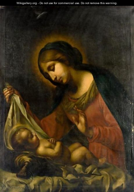 Madonna And Child - (after) Carlo Dolci