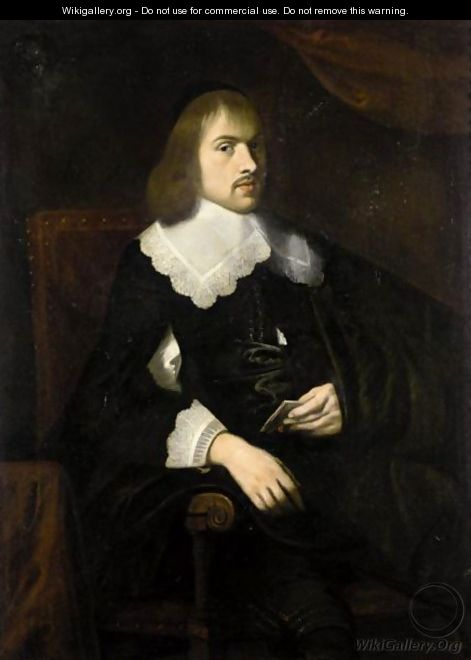 Portrait Of A Gentleman 2 - Dutch School