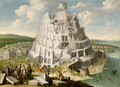 The Tower Of Babel - James Stephanoff