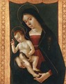 Madonna And Child With A Goldfinch - Romano Antoniazzo
