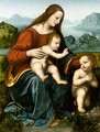 The Madonna And Child With The Infant Saint John The Baptist 2 - (after) Leonardo Da Vinci