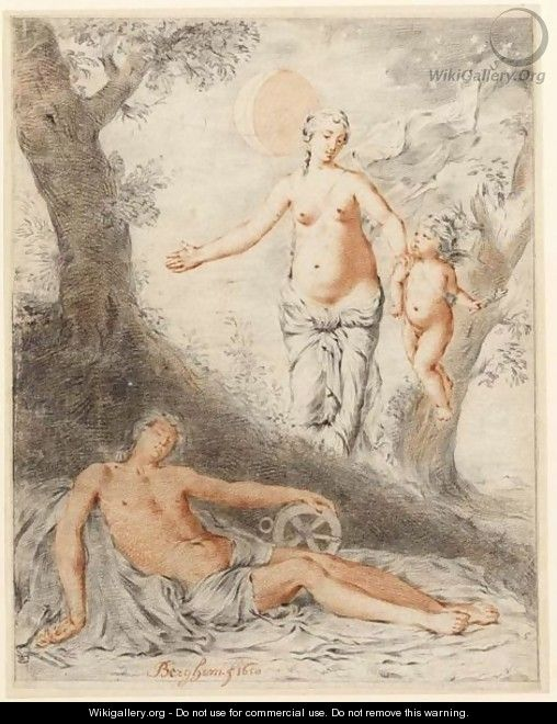 Diana And Endymion - Gerard de Lairesse