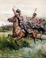 Cavalry Attack - Russian School