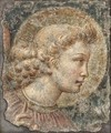 The Head Of The Virgin Mary - (after) Benozzo Di Lese Di Sandro Gozzoli