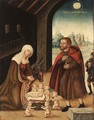 The Adoration Of The Virgin - (after) Lucas The Elder Cranach