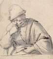 Half-Length Study Of A Man, Possibly A Self-Portrait - Adriaen Jansz. Van Ostade