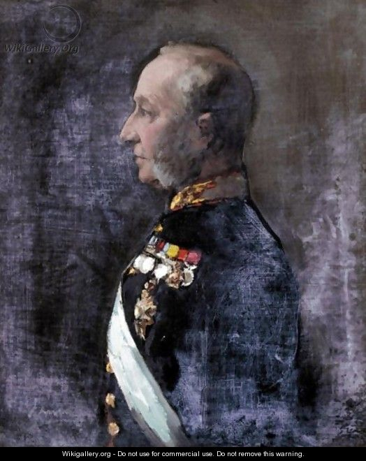 Portrait Of William, 15th Lord Elphinstone (1828-1893) - Sir John Lavery