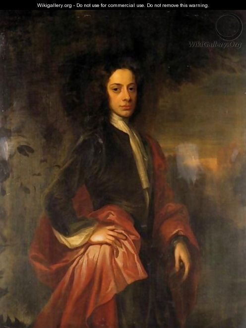 Portrait Of Charles, 9th Lord Elphinstone (1676-1738) 2 - (after) William Aikman
