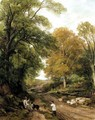 A Surrey Lane - Frederick William Hulme