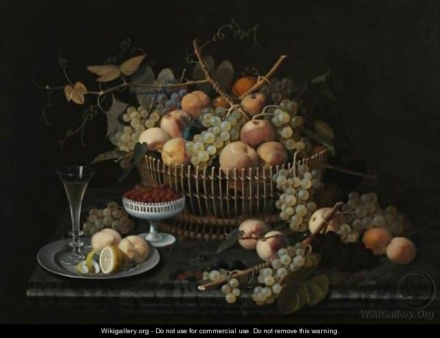 Still Life With Fruit 5 - Severin Roesen
