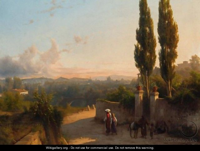 View Above Florence - Andras Marko