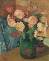 Still-Life With Chrysanthemum, 1908 - Giovanni Giacometti