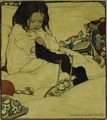 Young Girl Playing - Jessie Willcox Smith
