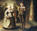 The Children Of The De Potter Family - (after) Jacob Gerritsz. Cuyp