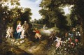 The Rest On The Flight Into Egypt - Jan, the Younger Brueghel