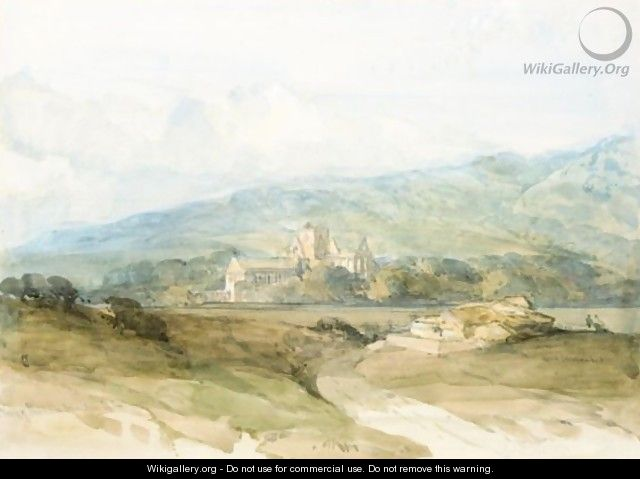 The Priory Of Pluscarden, Morayshire - David Roberts