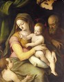 The Holy Family With The Infant Saint John The Baptist - (after) Bartolommeo Ramenghi The Elder, Il Bagnacavallo