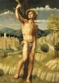 The Martyrdom Of St. Sebastian - Angelo Di Donnino Del Mazziere