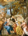 The Mystical Marriage Of Saint Catherine - Flemish School