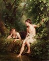 The Woodland Pool - Fritz Zuber-Buhler