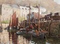 Fishing Boats, Polperro, Cornwall - William Kay Blacklock