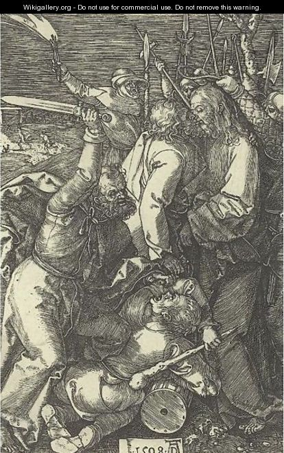 The Betrayal Of Christ - Albrecht Durer