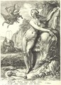 Perseus And Andromeda, After Hendrick Goltzius - Pieter Jansz Saenredam