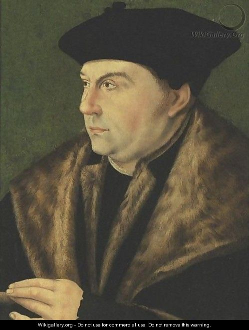 Portrait Of Thomas Cromwell - (after) Holbein the Younger, Hans