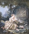 Le Messager Discret - (after) Francois Boucher