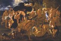 The Meeting Of Bacchus And Ariadne - (after) Nicolas Poussin