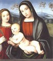 Madonna And Child With St. Catherine Of Alexandria - Giacomo Raibolini