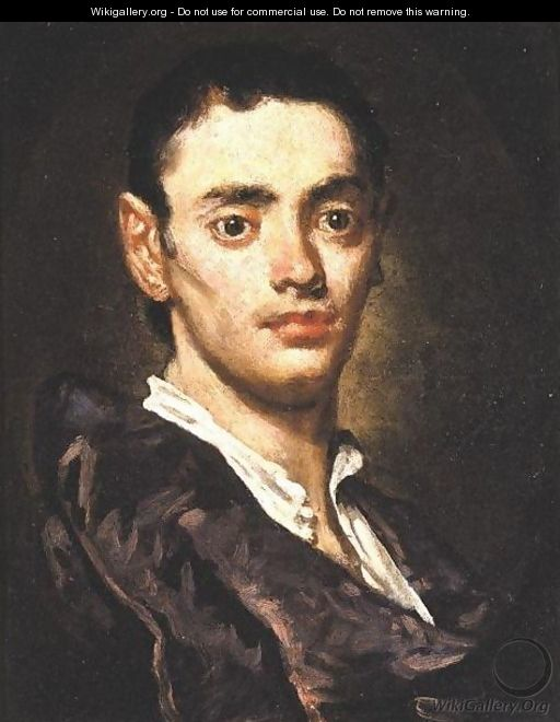 Portrait Of A Young Man 2 - Vittore Ghislandi
