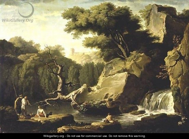 Le Matin - (after) Claude-Joseph Vernet