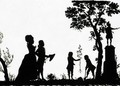 Silhouette Of Prince William V Of Orange And Family - English School