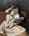 Mother And Daughter - Francisco Miralles Galup