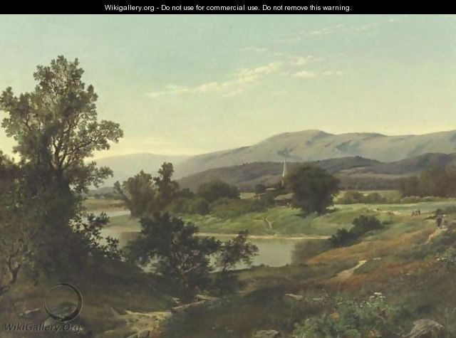 A Sunny Morning Stroll In The Country - William Trost Richards