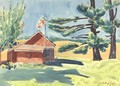 Old Schoolhouse, Ryders - George Luks