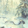 Sunlight On December Snow - Walter Launt Palmer
