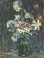 Night Study Of Flowers - Maurice Brazil Prendergast