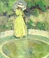 The Fountain - Charles Webster Hawthorne