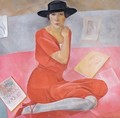 Portrait Of A Lady - Boris Dmitrievich Grigoriev