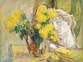 Still Life With Yellow Flowers - Nikolai Aleksandrovich Tarkhov