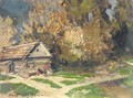 Dacha In The Country - Konstantin Alexeievitch Korovin