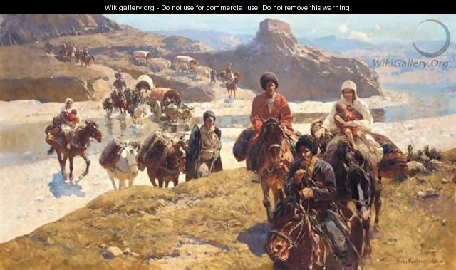 Mountain People - Franz Roubaud