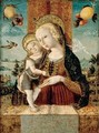 The Madonna And Child With A Goldfinch - Swiss Unknown Master