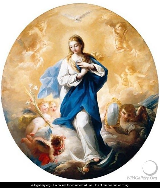 The Immaculate Conception - Mariano Salvador Maella