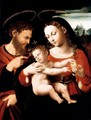 The Holy Family - (after) Vicente Juan (Juan De Juanes) Macip