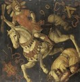 Saint James Defeating The Moors - South German School