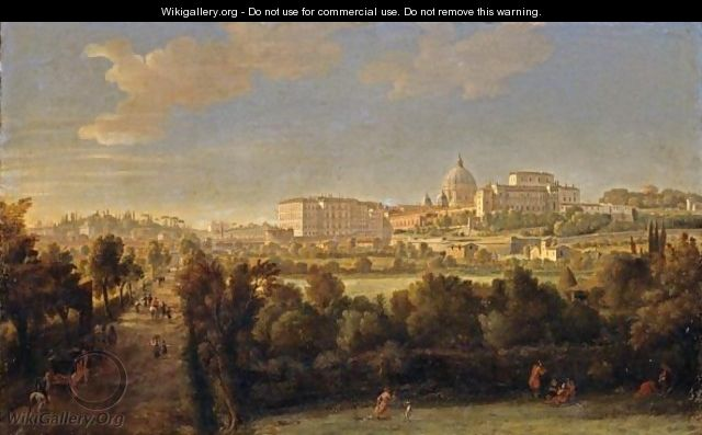 Rome, A View Of Saint Peter